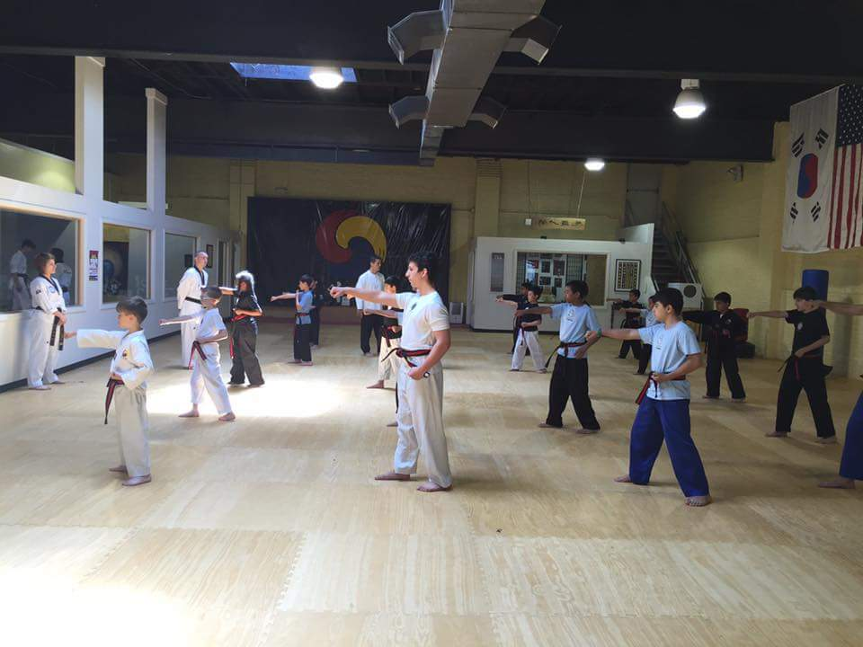May Black Belt Test Candidates Practice Part 1