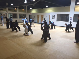 gallery black belt test