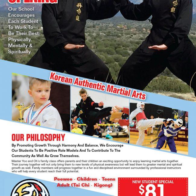 Hong Ik Martial Arts of Bronxville Grand Opening