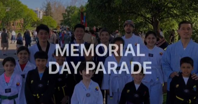 Memorial Day taekwondo