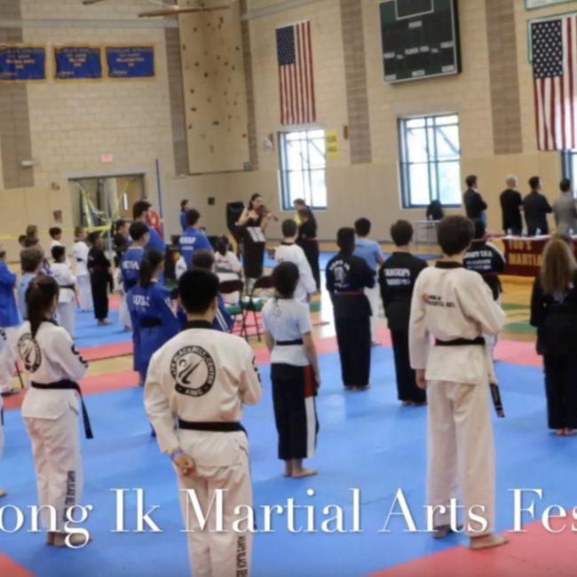 HongIK martial arts festival