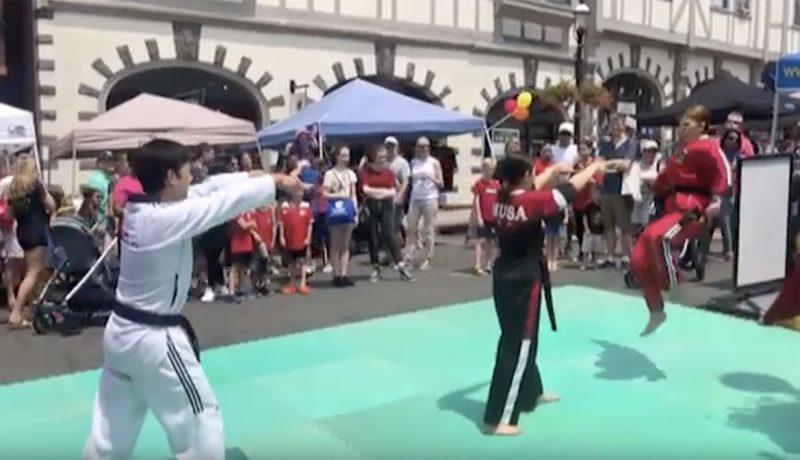 Taekwondo demo