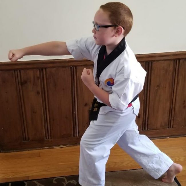jacob taekwondo